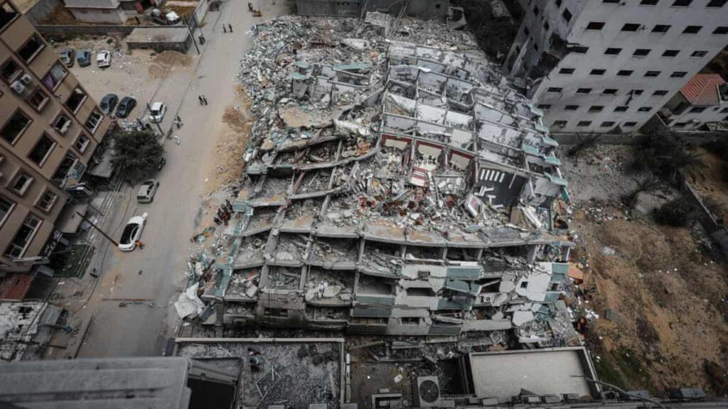 No reconocemos nuestra propia ciudad: los embates israelíes rediseñan el mapa de Gaza