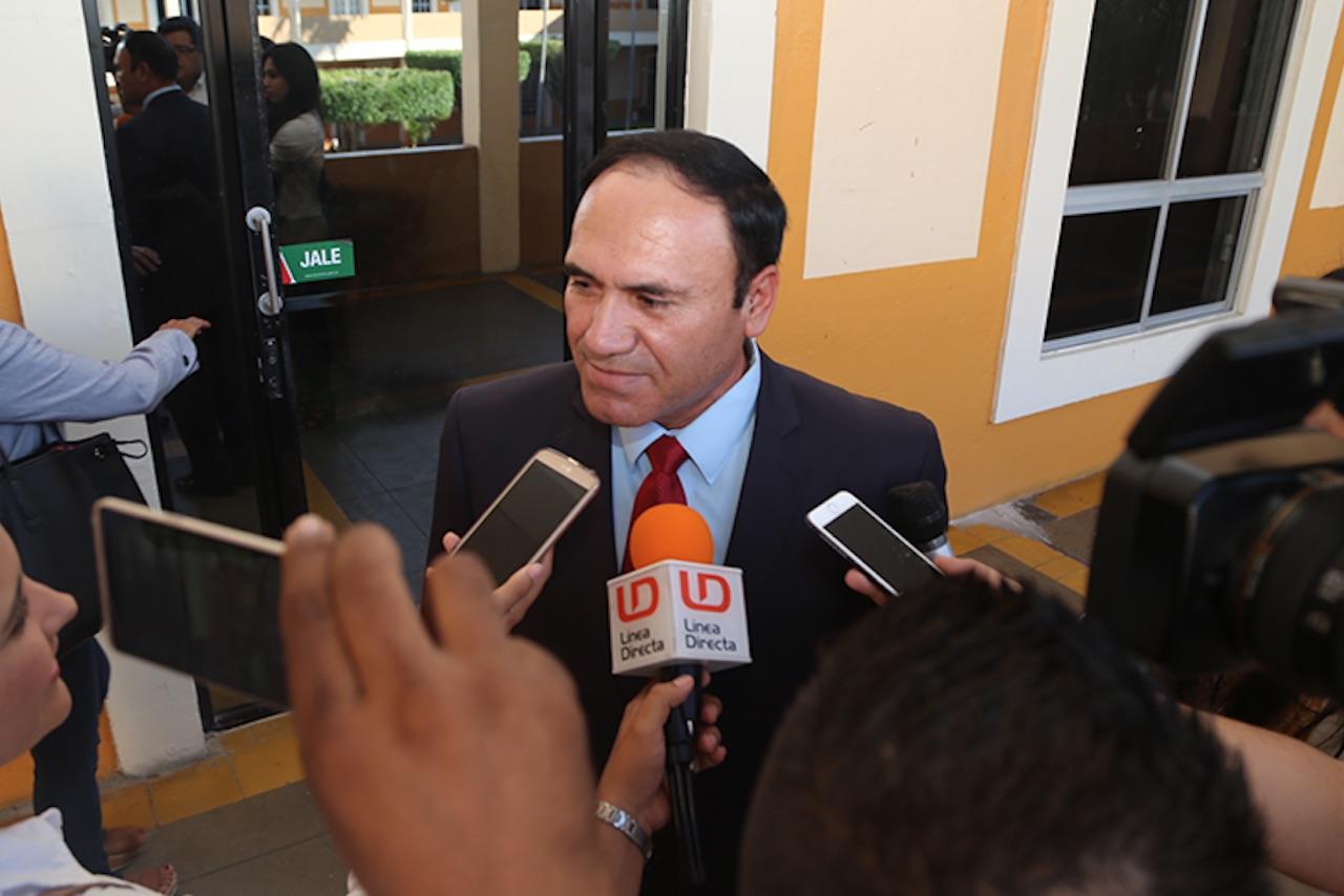 Foto de Joel Ernesto Soto director de la policía de Sinaloa