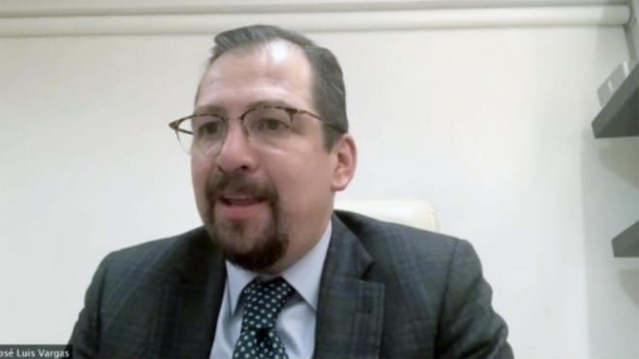 Foto del magistrado José Luis Vargas copia