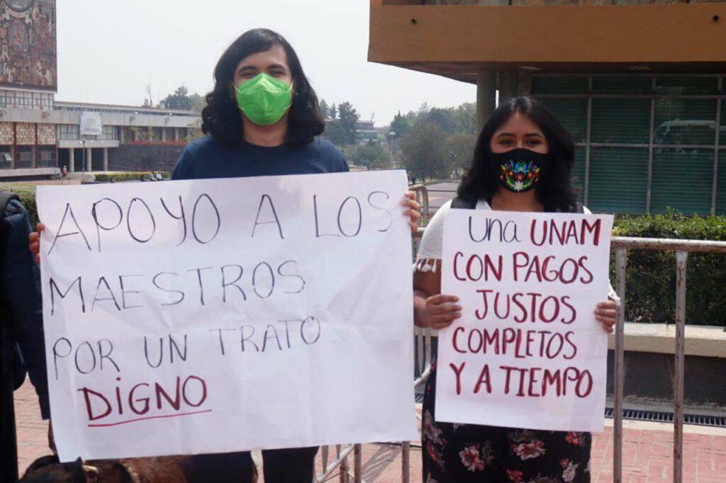 Pagos y diálogo con el rector: La-Lista de exigencias de profesores de la UNAM