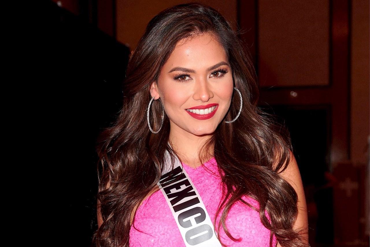 Foto de Andrea Mesa Miss Universo 2021