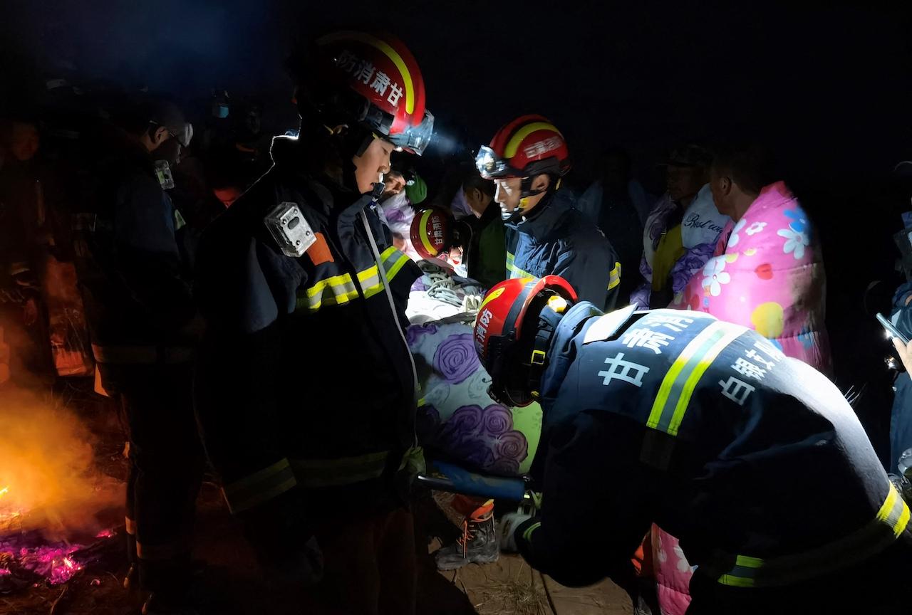 Foto maratón de china que dejó 21 muertos