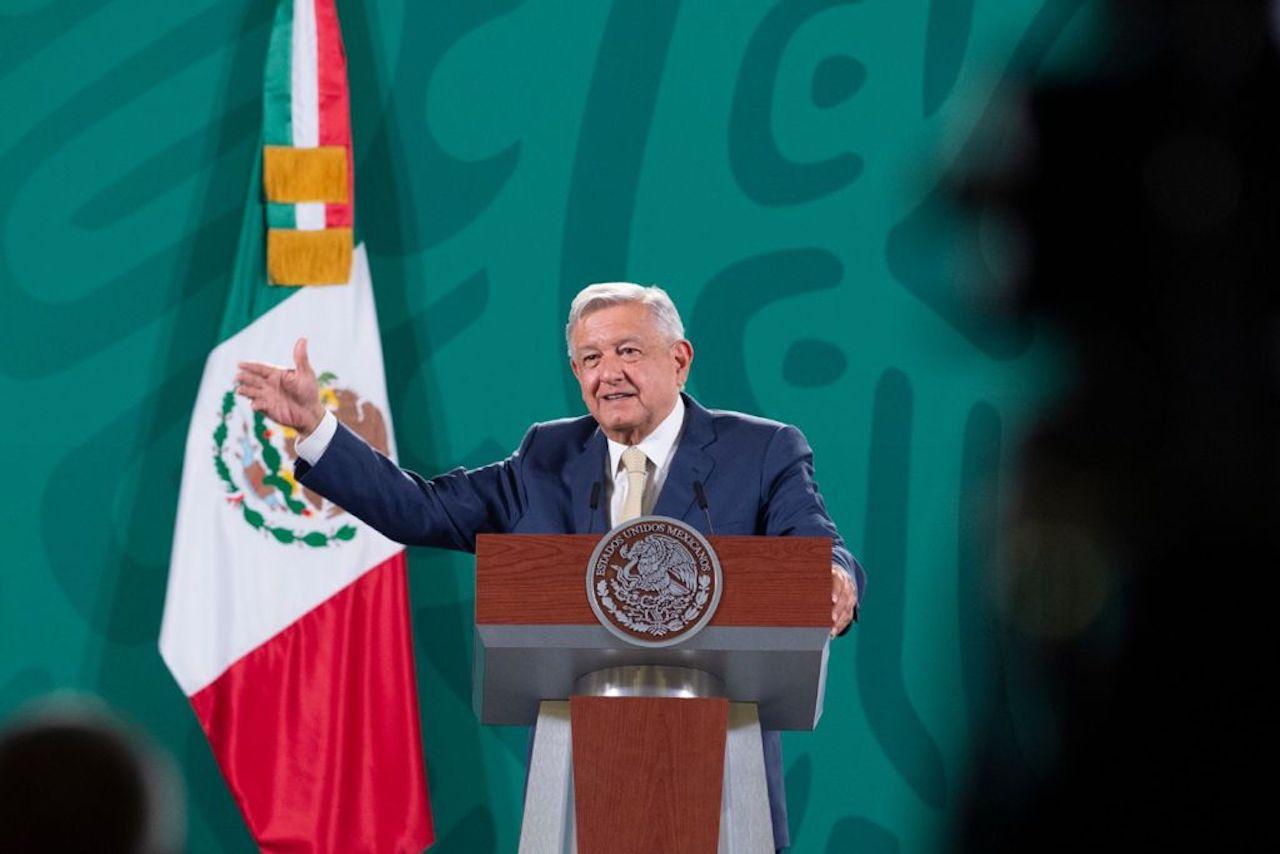 Foto del presidente de AMLO quien fue denunciado ante la OEA