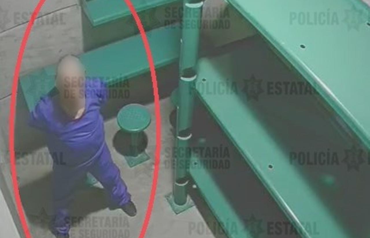 Foto del supuesto feminicida serial de Atizapán en la carcel