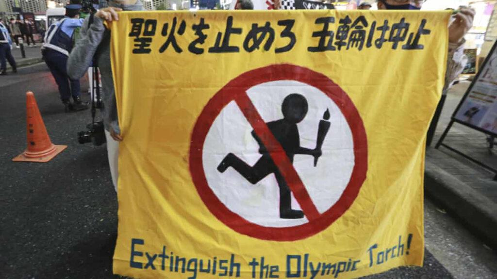 En Japón, la mayoría quiere cancelar los Juegos Olímpicos, pero el gobierno no escucha