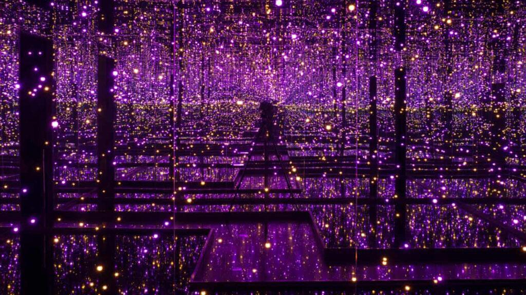 'Las luces de hadas chafitas de mi jardín también hacen esto' – Yayoi Kusama: Infinity Mirror Rooms
