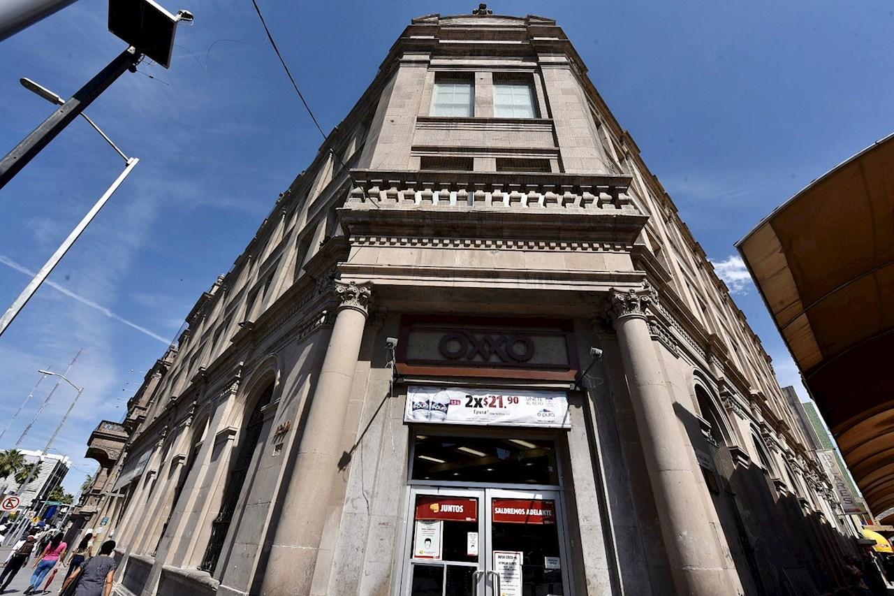 Foto del edificio relacionado con la matanza de chinos en Torreon, Coahuila