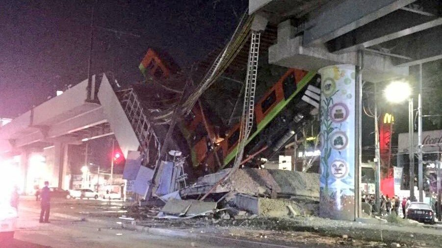 Accidente metro CDMX