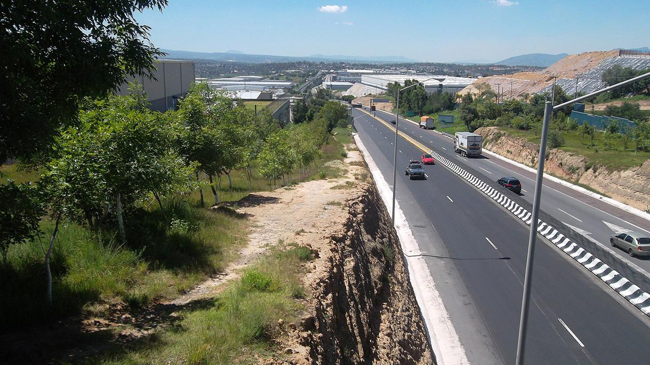 Foto de la carretera México-Toluca