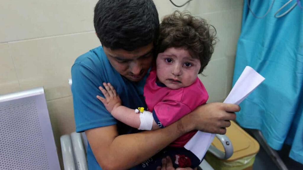 'Están matando a nuestros niños': el costo humano de la violencia entre Israel y Gaza