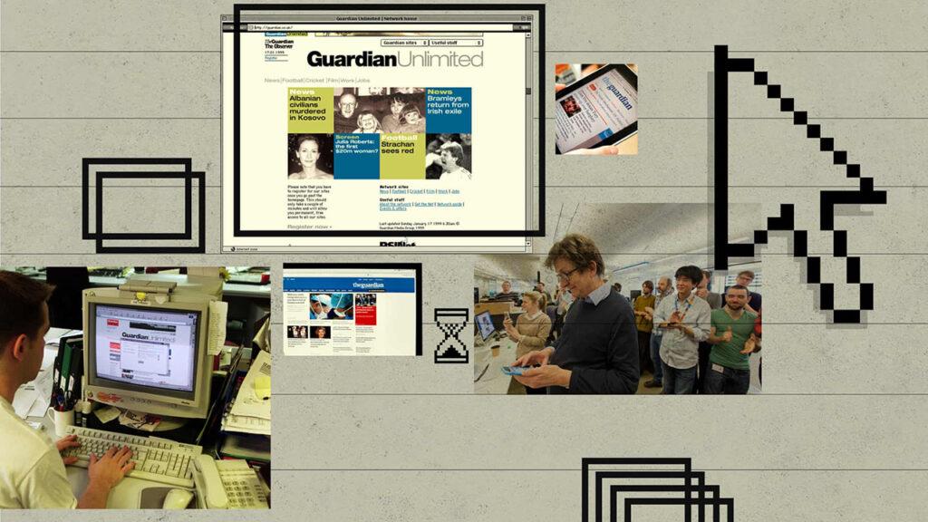 'Fue emocionante': cómo The Guardian se volvió digital y global