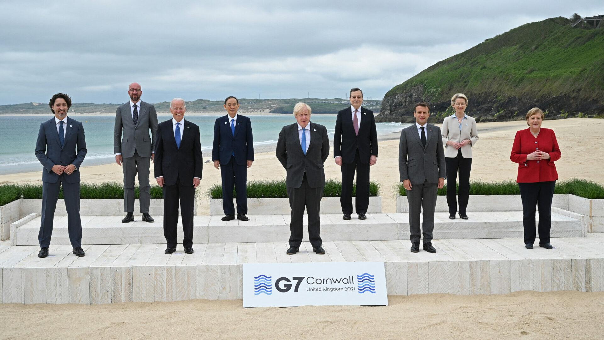 G7 Cumbre vacunas