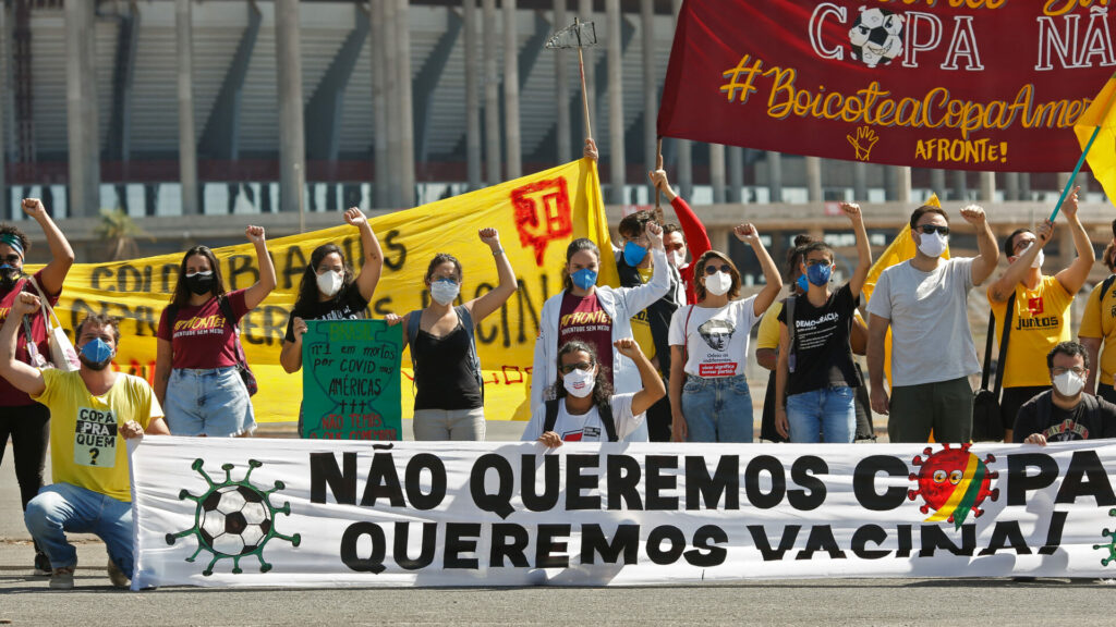 La Copa América suma 41 casos de Covid-19