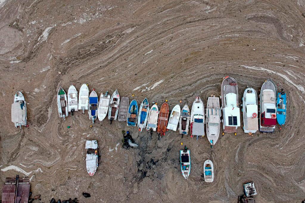 Fotogalería: La costas de Turquía evidencían la contaminación y el calentamiento global