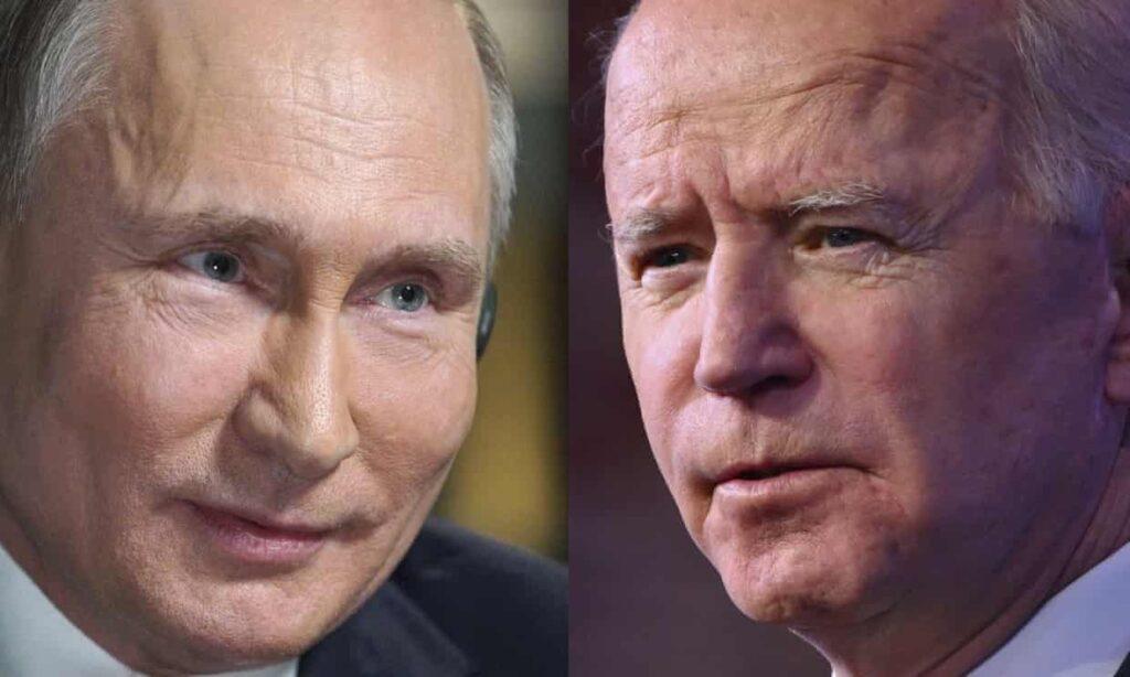 "Vladimir Putin dice que Biden es ""radicalmente distinto"" al impulsivo Trump"