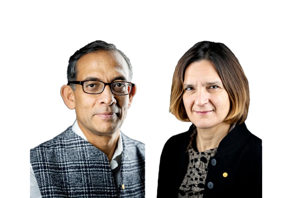 Abhijit Banerjee y Esther Duflo