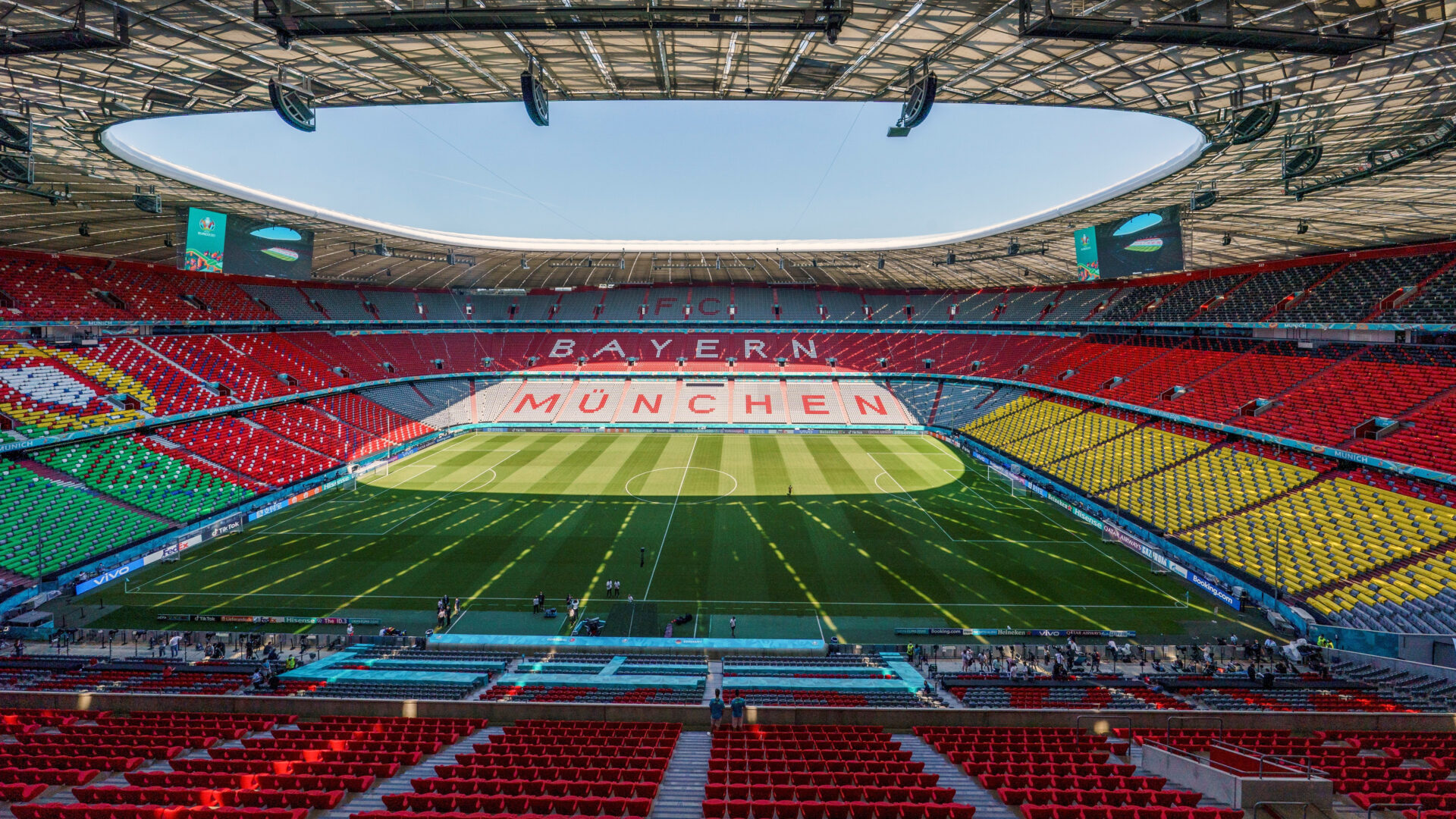 Allianz Arena arcoiris