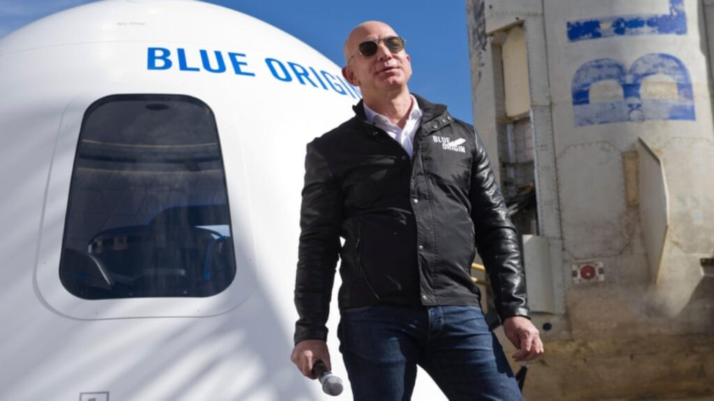 Hombres cohete: Bezos, Musk y Branson luchan por la supremacía espacial