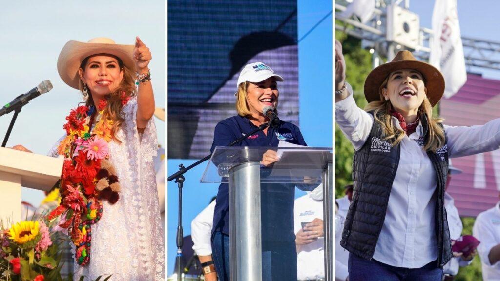 Las mujeres se perfilan para lograr elección histórica con al menos 6 gobernadoras