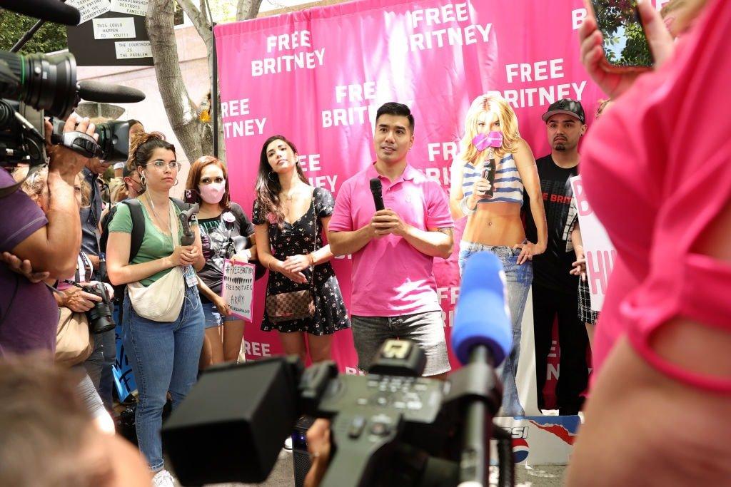 Free Britney Kevin Wu