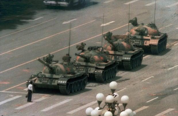 Microsoft impide que Bing muestre resultados de las imágenes del 'hombre del tanque' de Tiananmen