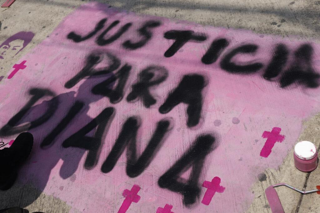 Fotogalería: exigen justicia por el feminicidio de Diana Velázquez a más de 3 años