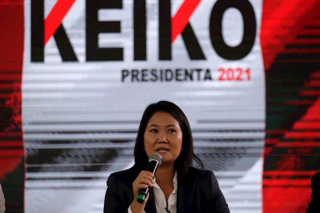 Fujimori está haciendo un 'Trump' para no reconocer su derrota en Perú, advierten analistas