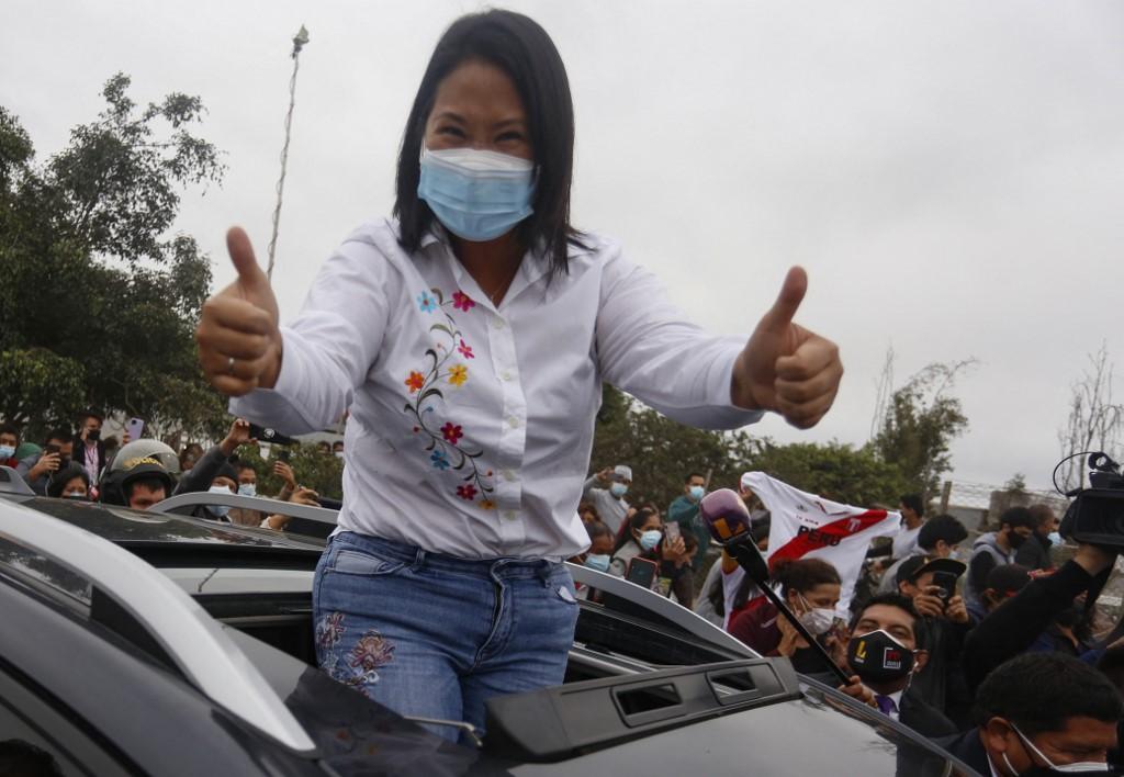 Keiko Fujimori siembra el fantasma del fraude en la cerrada elección de Perú