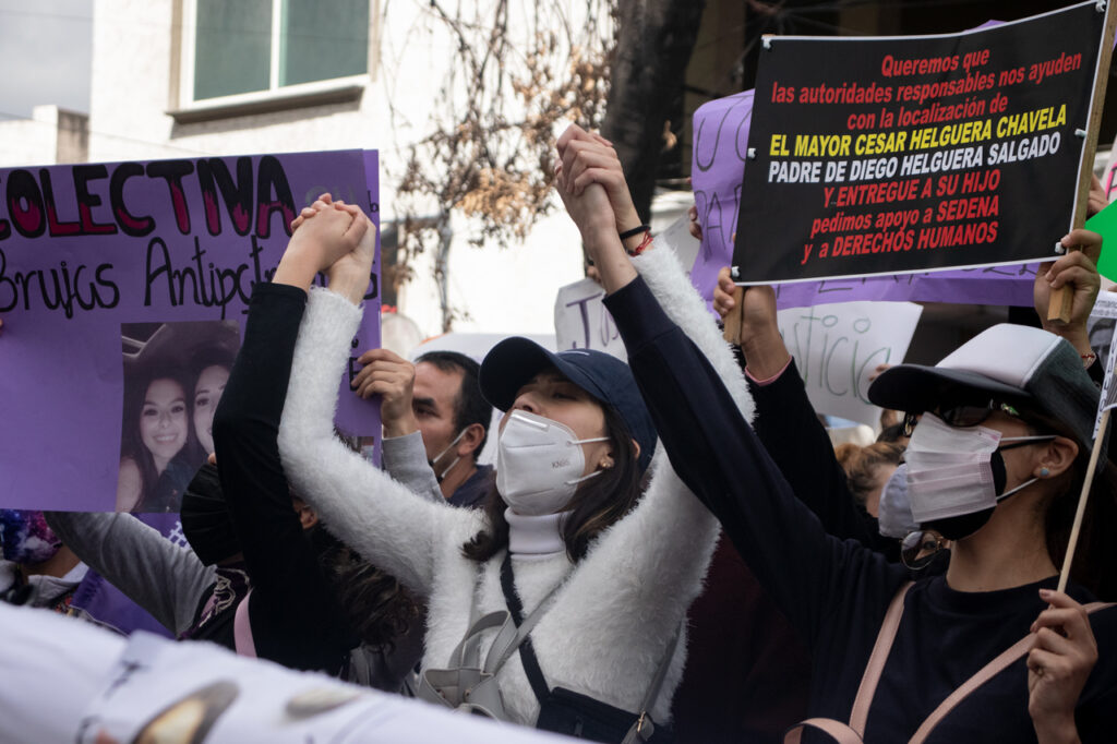 """Fotogalería: el grito """"Justicia para Fer y 'Polly'"""" toma la CDMX"""