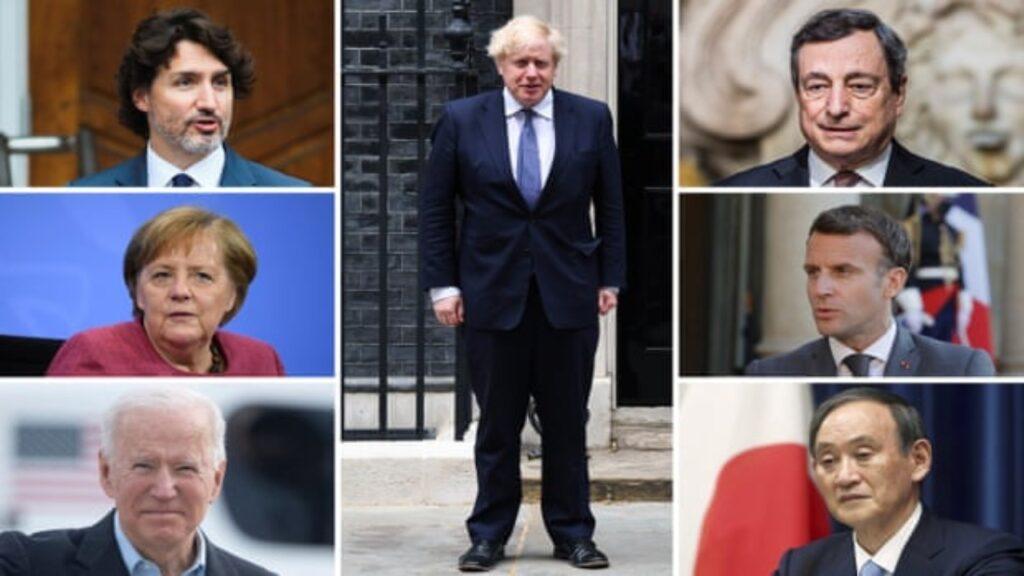 Los líderes del G7 en Reino Unido: ¿cuáles son sus agendas?