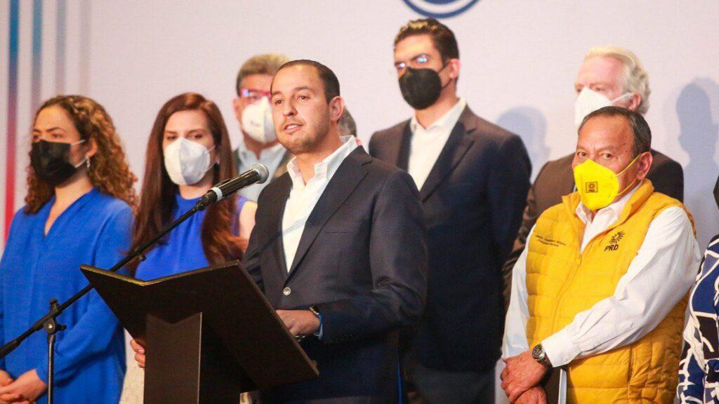 Va por México pedirá recuentos en Michoacán y SLP y se enfila para 2024