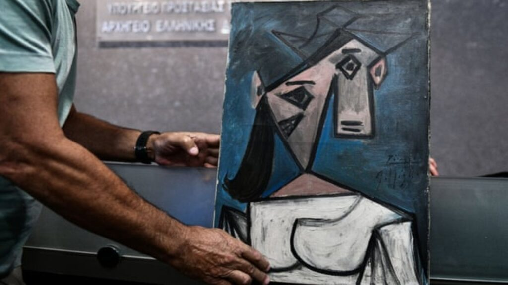 Encuentran pinturas robadas de Picasso y Mondrian después del arresto de un albañil en Atenas