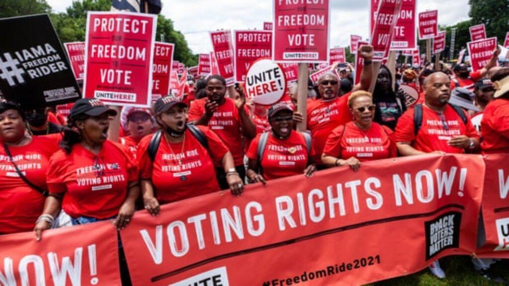 'Solo dice que lo va a hacer': por qué Biden está perdiendo la lucha por el derecho al voto
