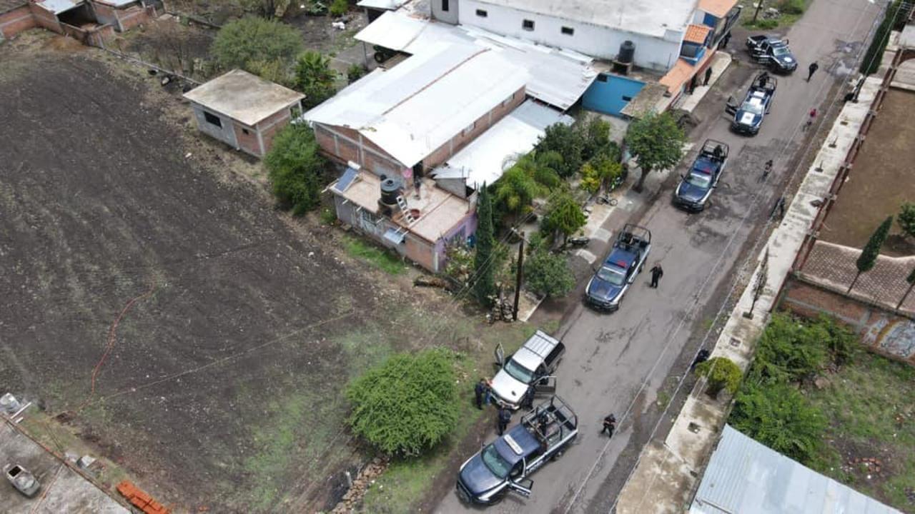 Foto de operativo para hallar a Gilberto Mejía