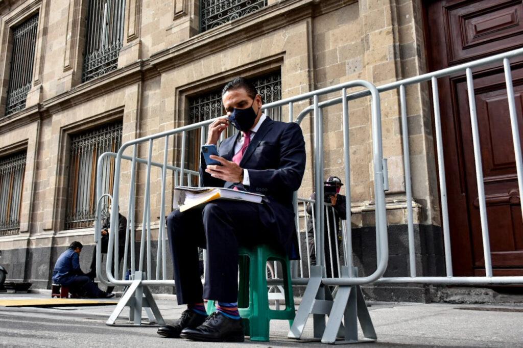AMLO no recibe a Silvano Aureoles en Palacio Nacional