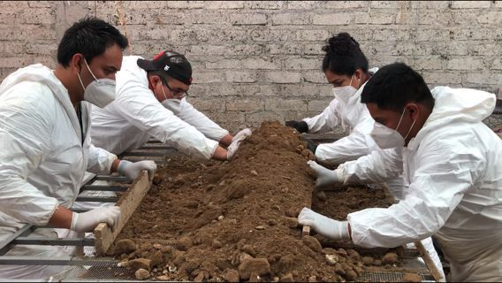Extienden diligencias en casa del presunto feminicida de Atizapán