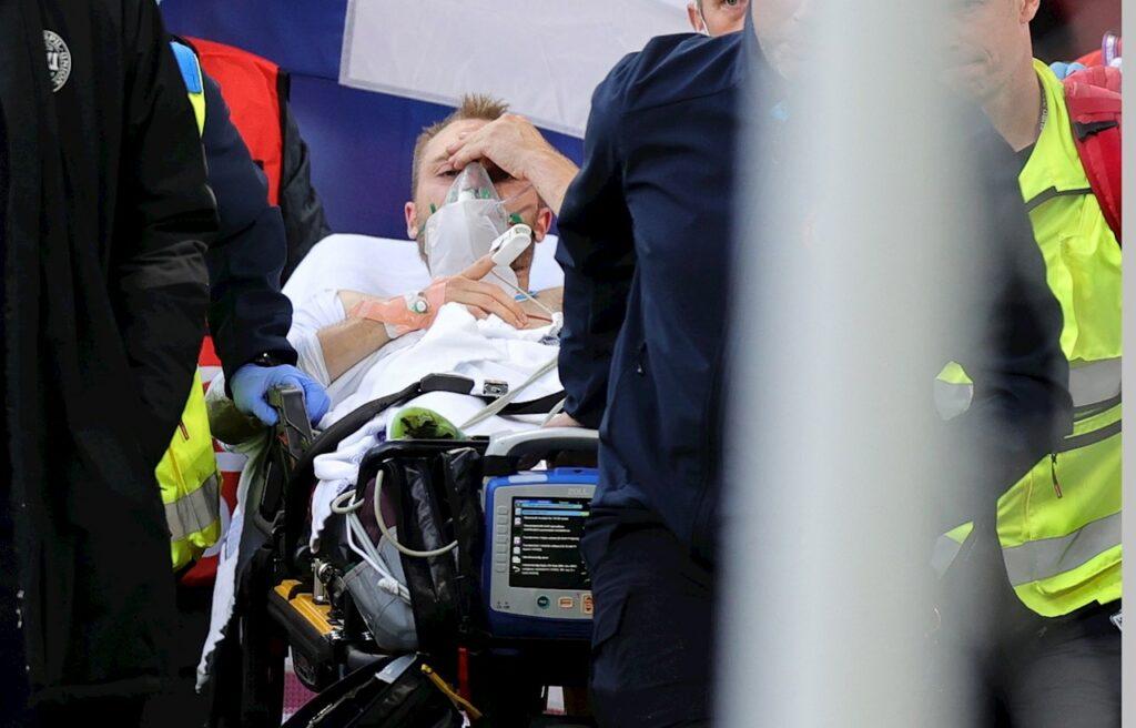 Eriksen se recupera, pero aún se desconoce qué originó su desvanecimiento