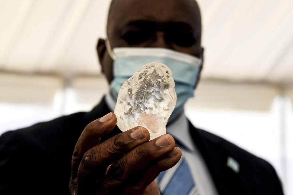Diamante en Botsuana