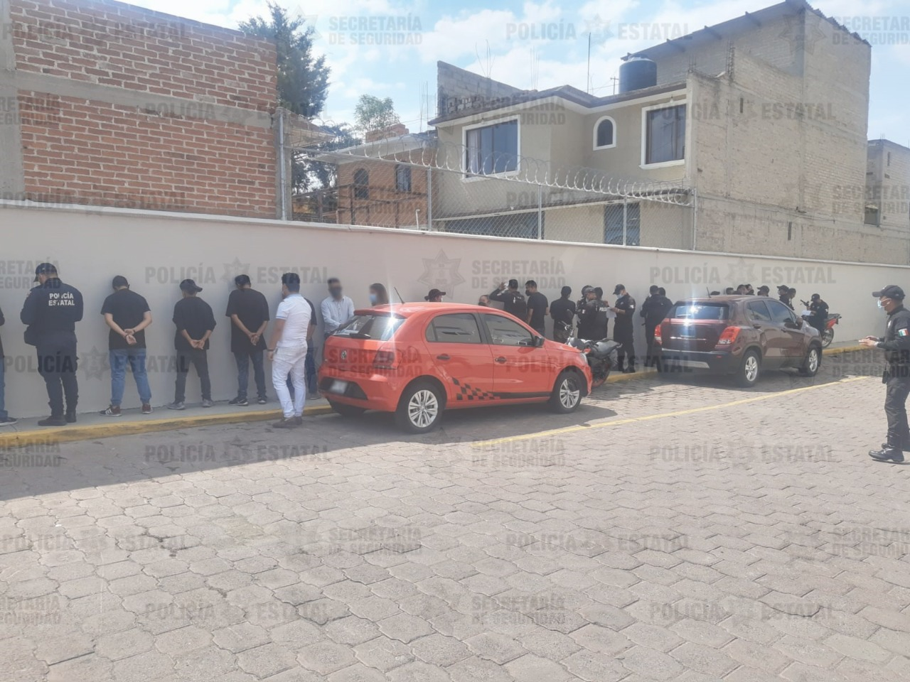 Foto detenidos delitos electorales