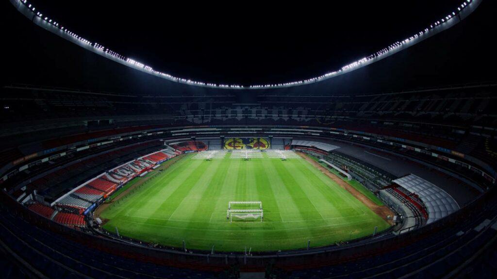 El Estadio Azteca contaría con aforo del 75% en partidos eliminatorios para Catar 2022
