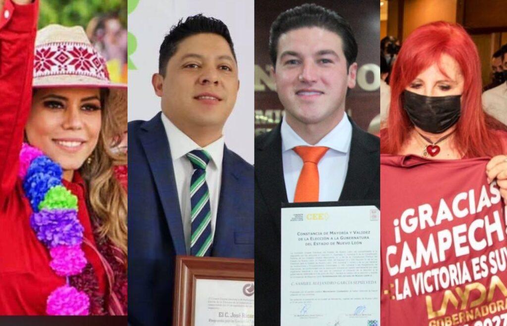 Ya son gobernadores electos: Samuel García, Layda Sansores, Evelyn Salgado…