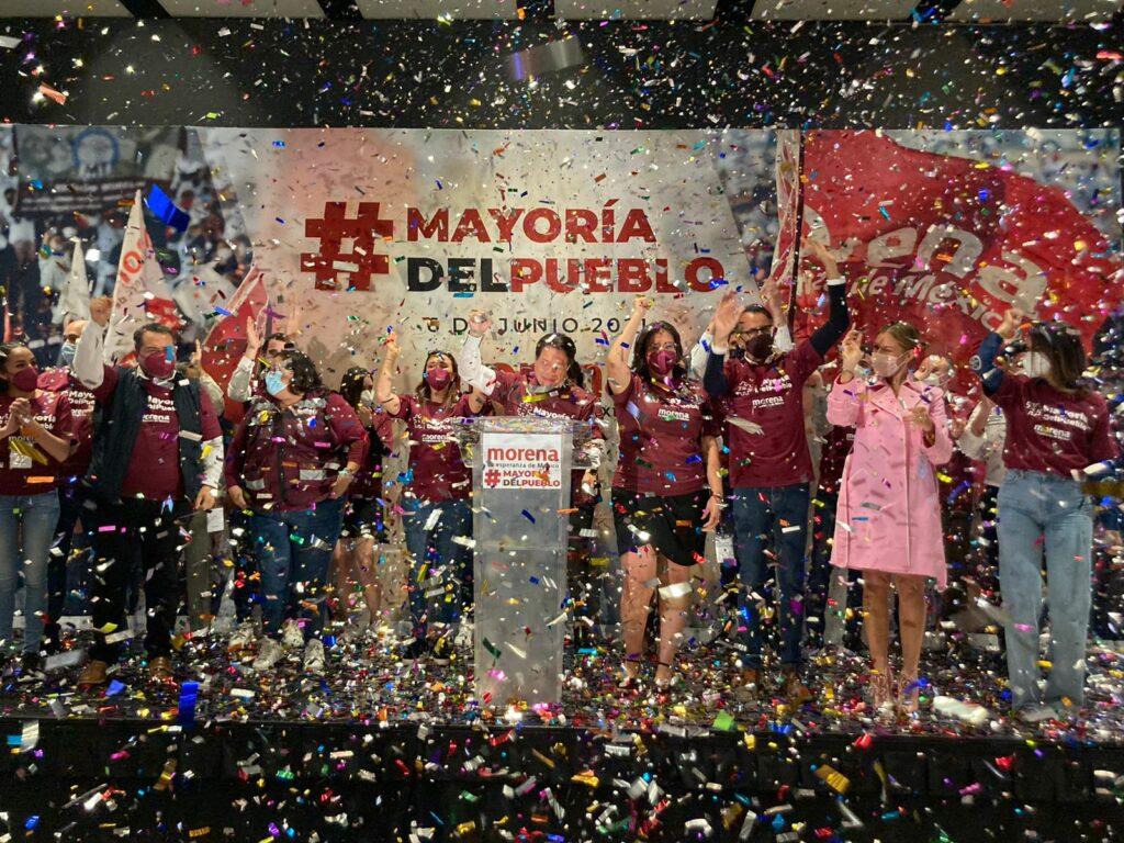 Morena se declara ganador de 12 gubernaturas y 14 alcaldías de CDMX