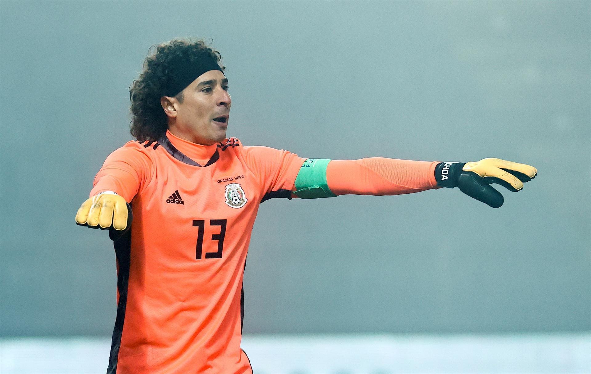 Memo Ochoa, portero de la Selección Mexicana