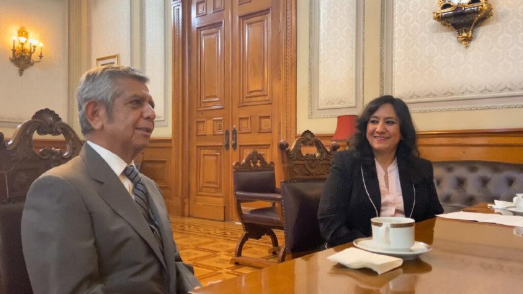 Irma Eréndira Sandoval sale de la SFP y es sustituida por Roberto Salcedo