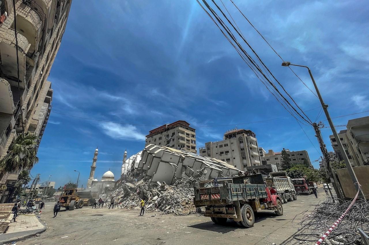 Foto nuevo ataque de israel a palestina