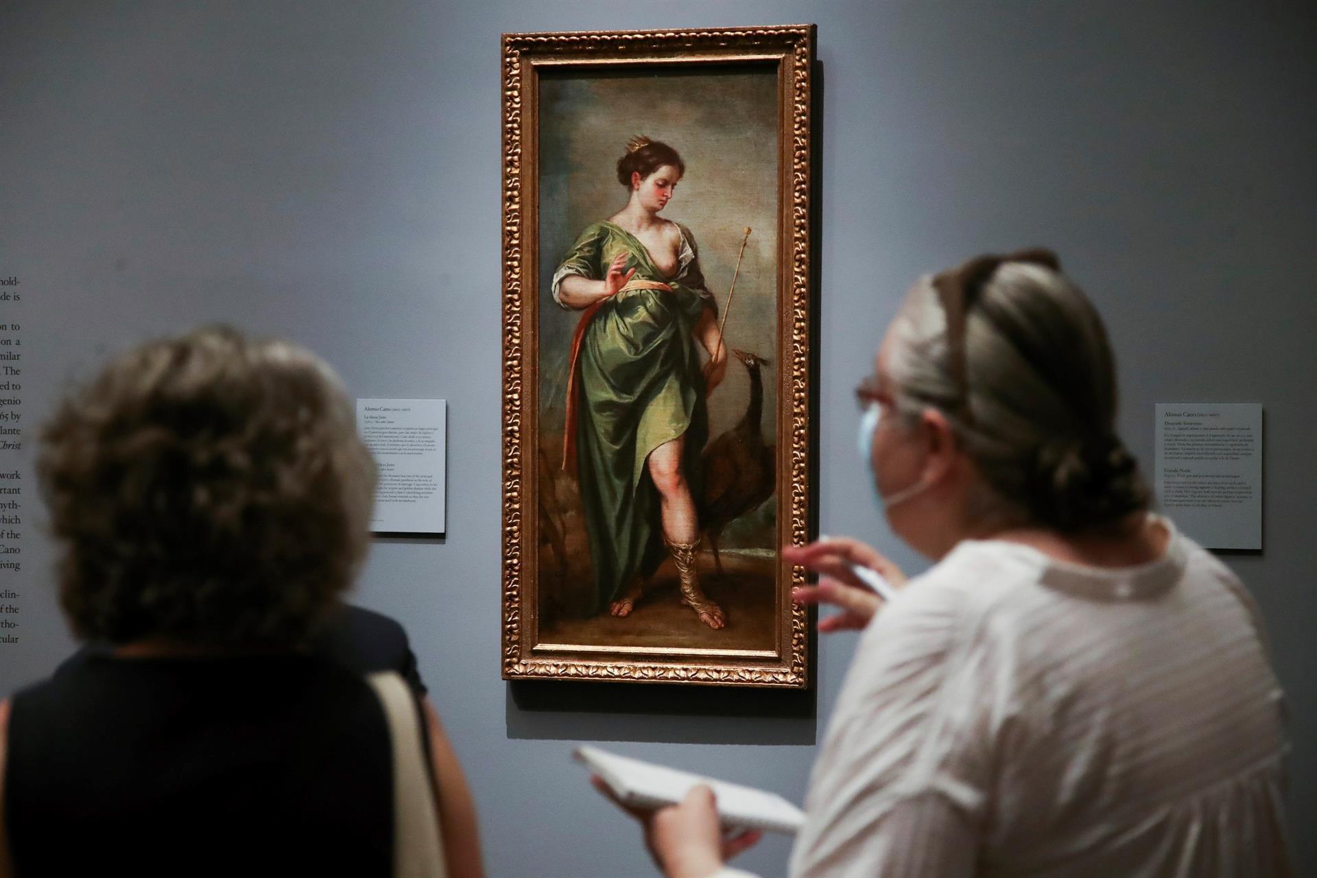 """""""La Diosa Juno"""", del Museo del Prado"""