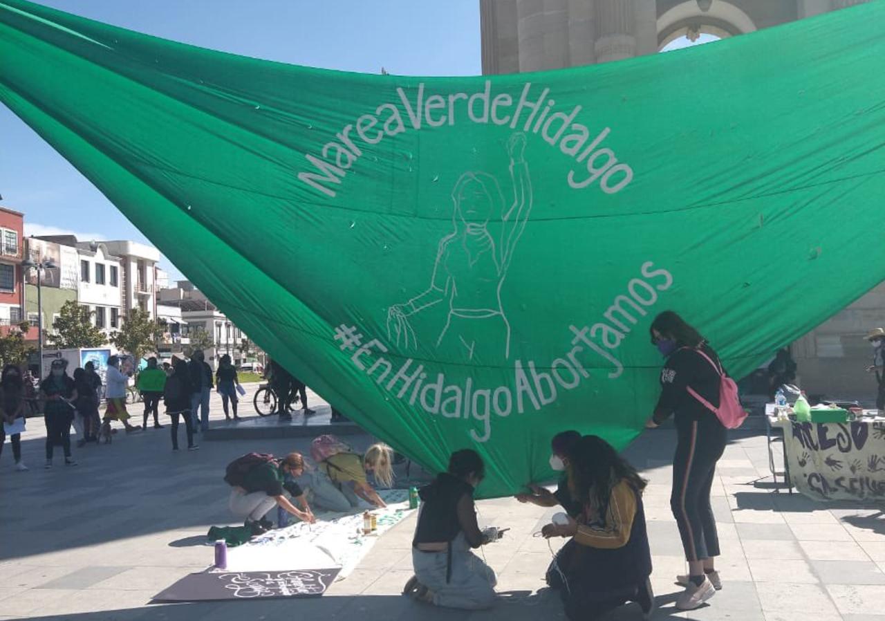 Foto temática de la aprobación Congreso de Hidalgo del aborto