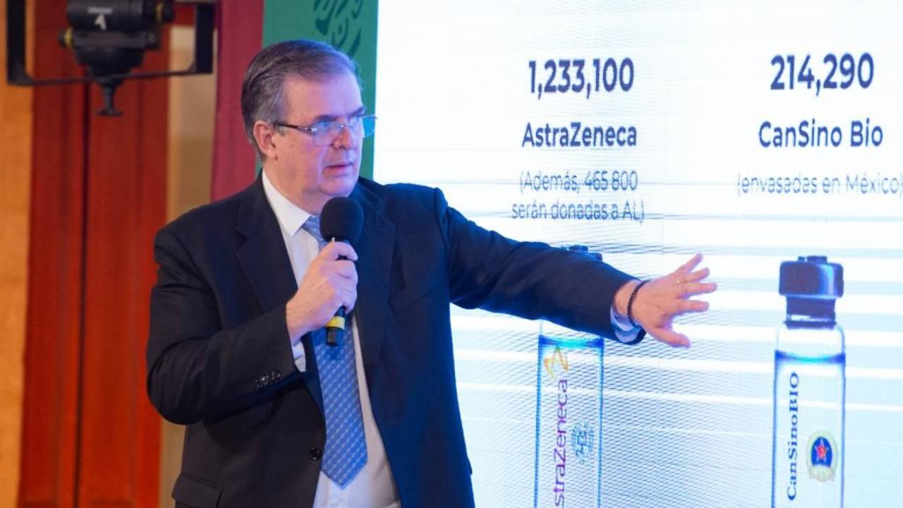 México donará vacunas a América Latina