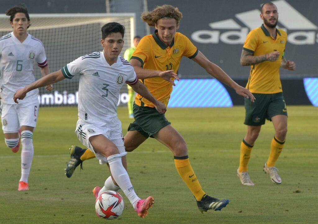 México sub-23 le gana a Australia con tres goles rumbo a Tokio 2020