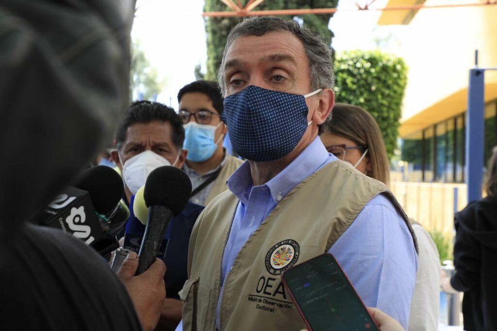 La OEA considera que los incidentes violentos no afectan la elección hasta ahora